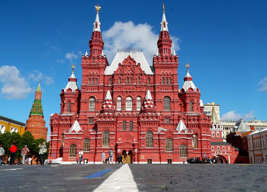 Государственный исторический музей, Москва