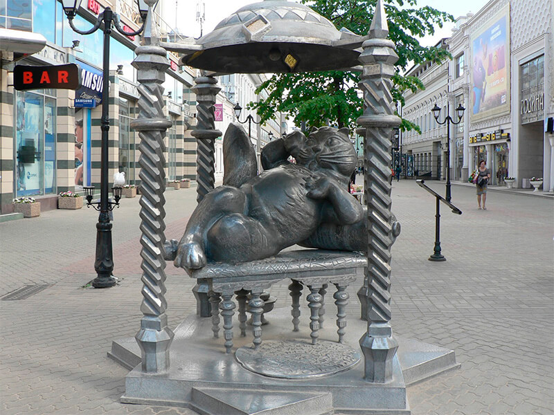 Памятник Коту Казанскому