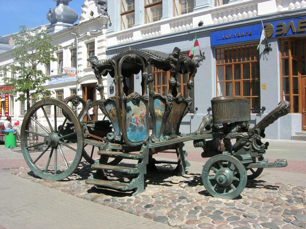Памятник карете Екатерины II, Казань