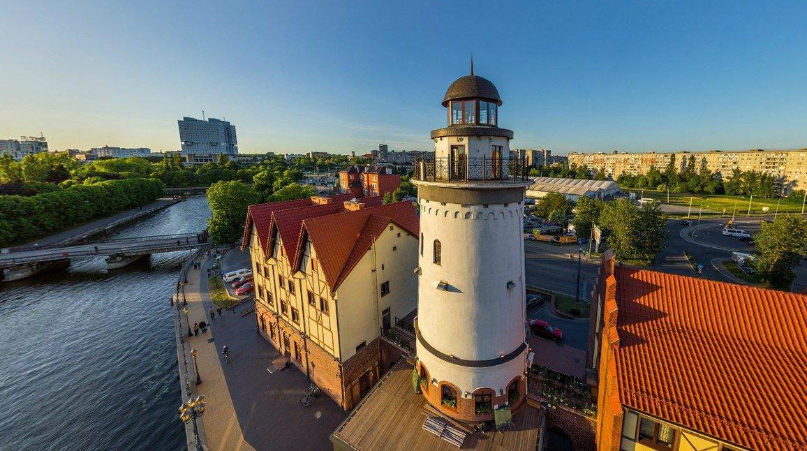 Видовая башня «Маяк», Калининград