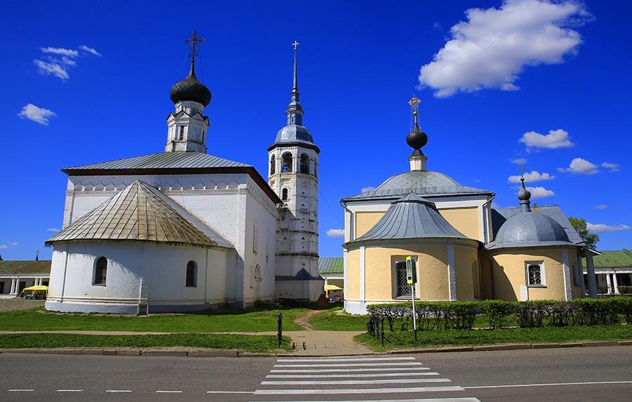 Воскресенская и Казанская церкви