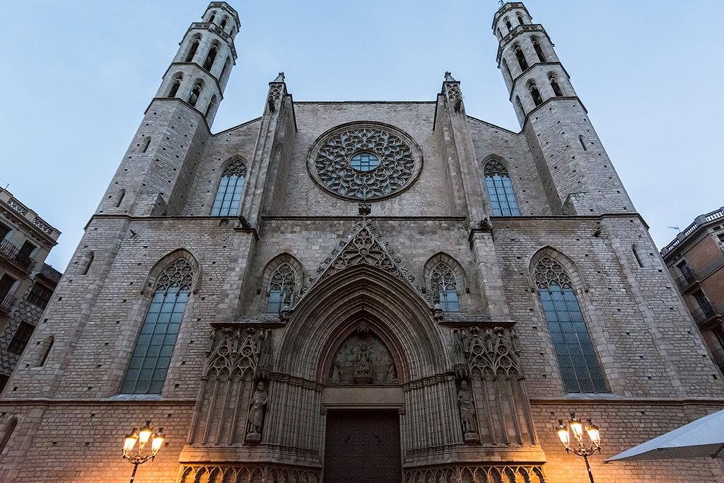 Церковь Санта-Мария-дель-Мар