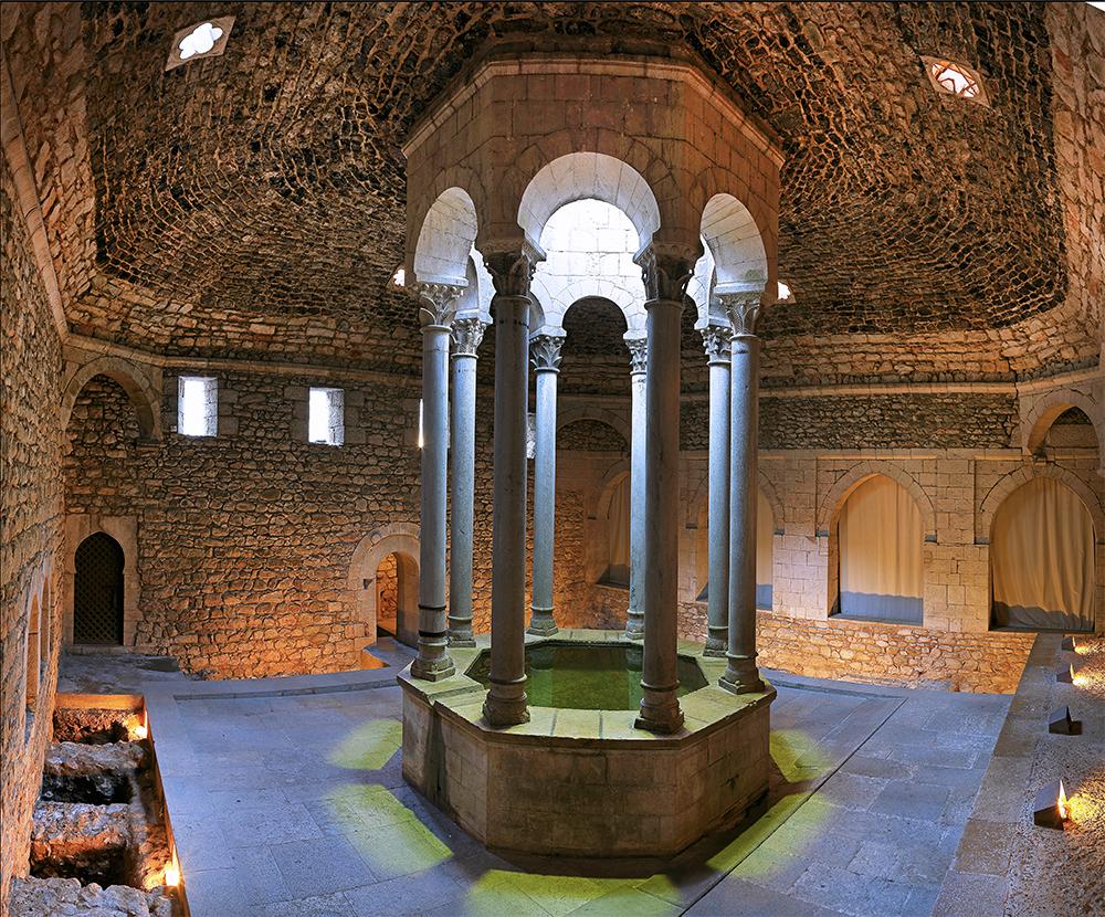 Арабские бани, Жирона