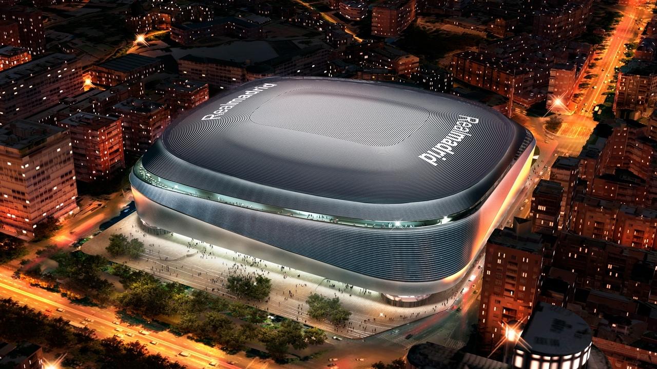 Стадион Сантьяго Бернабеу