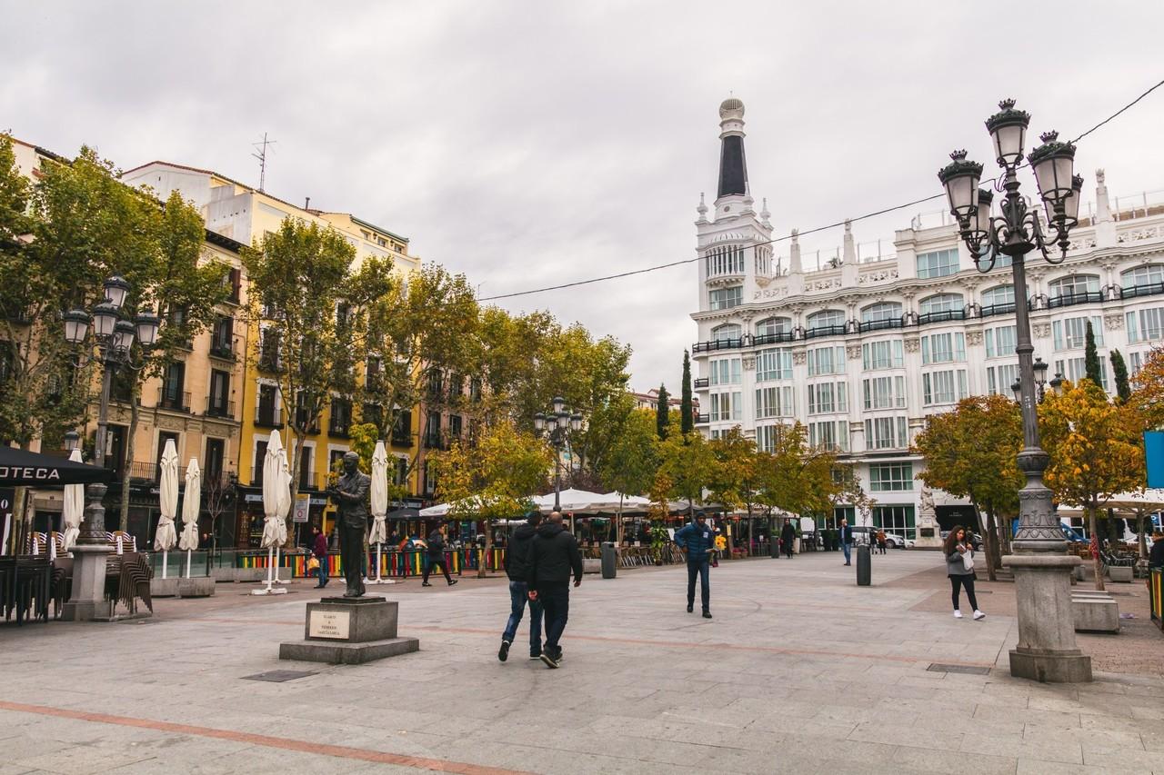 Площадь Санта-Ана, Мадрид