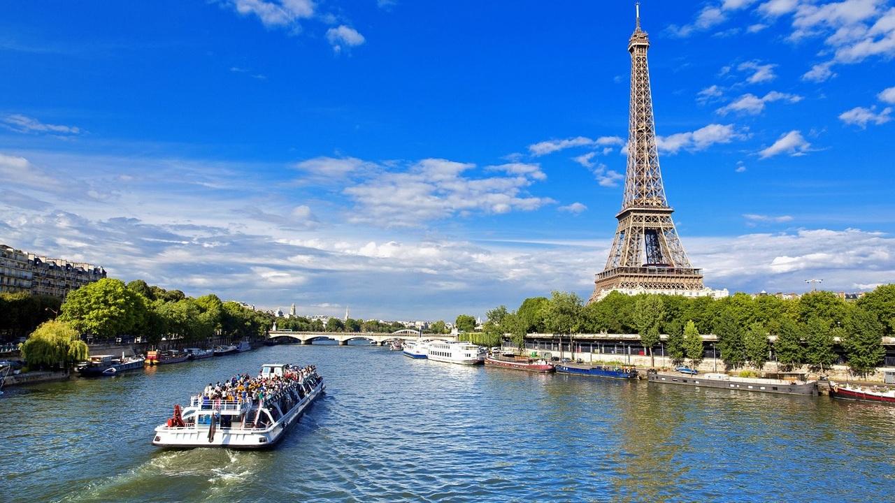 Сена, Париж