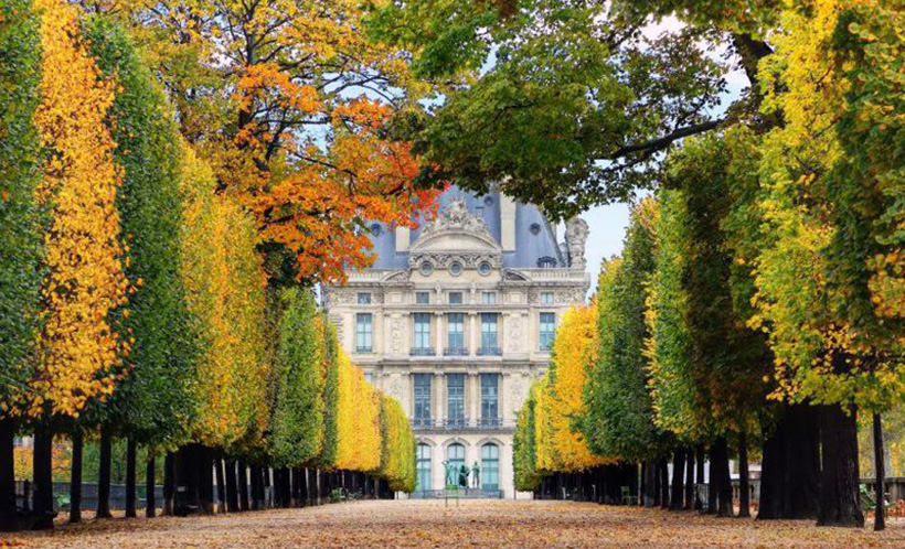 Сад Тюильри, Париж