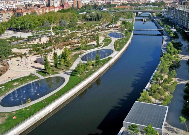 Парк Мадрид Рио
