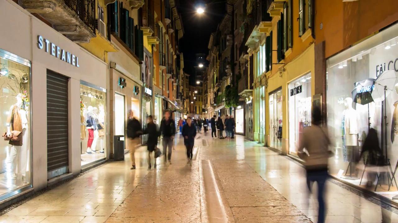 Улица Via Mazzini, Верона