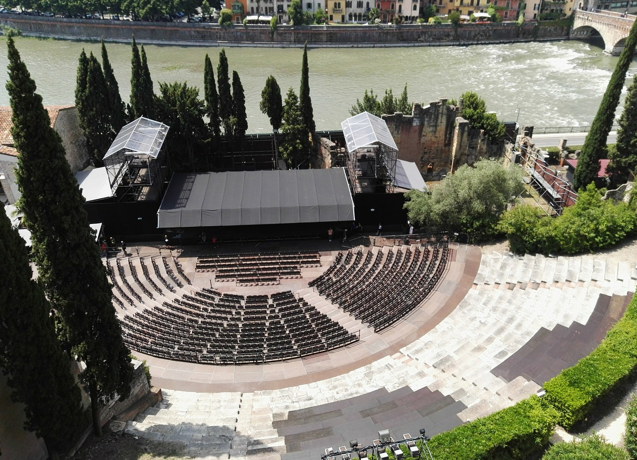 Римский театр, Верона