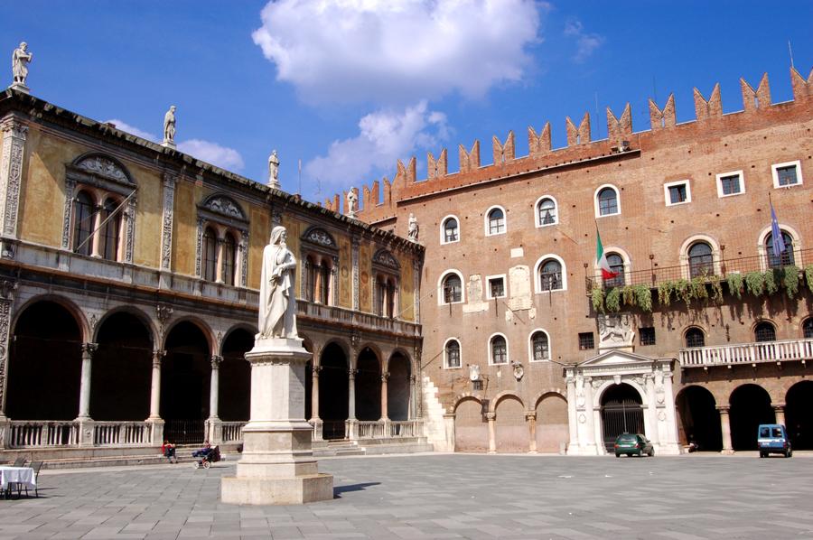 Площадь Синьории, Верона