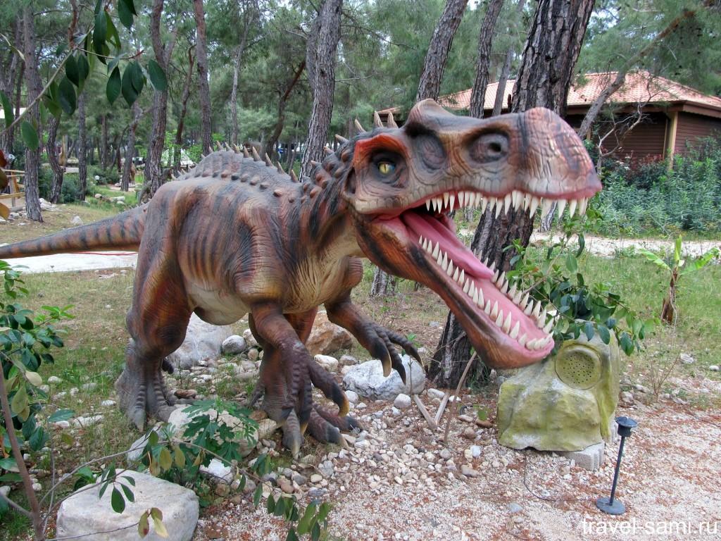 Парк динозавров в Кемере (Динопарк)