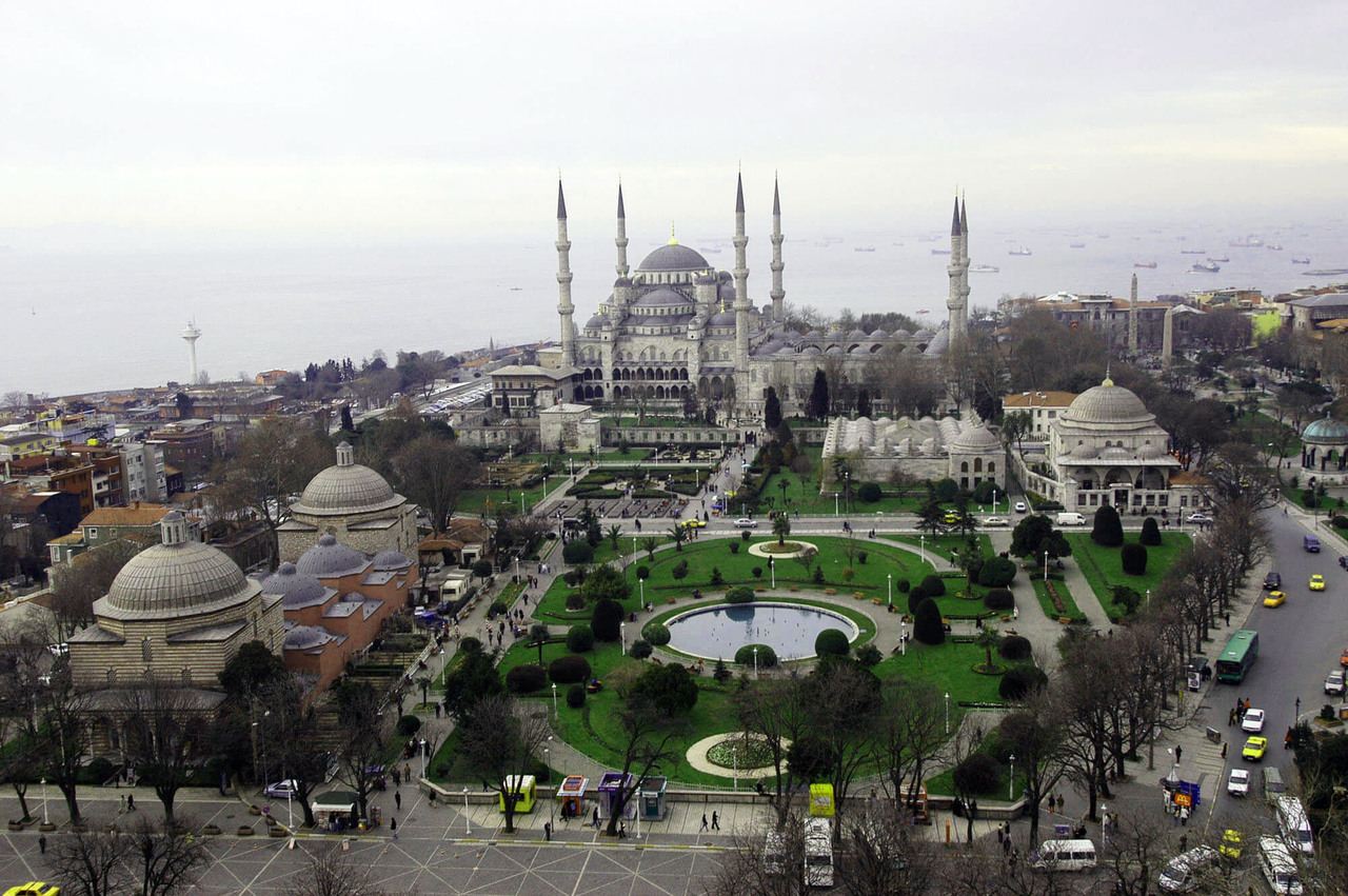 Исторический центр Стамбула (район Фатих)