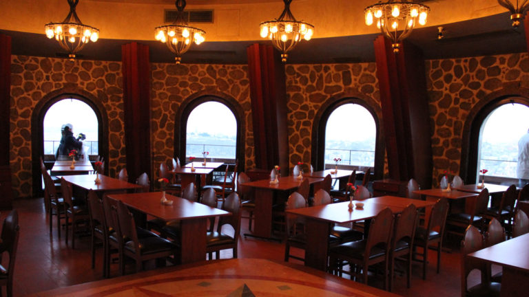 Ресторан внутри Галатской башни