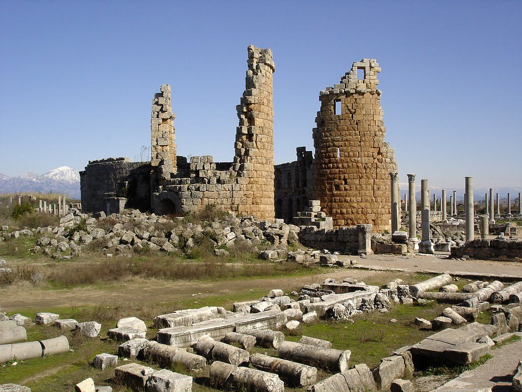 Древний город Перге, Анталья (Анталия)