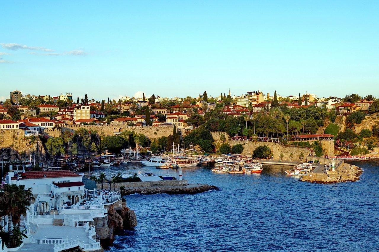 Старый порт Антальи