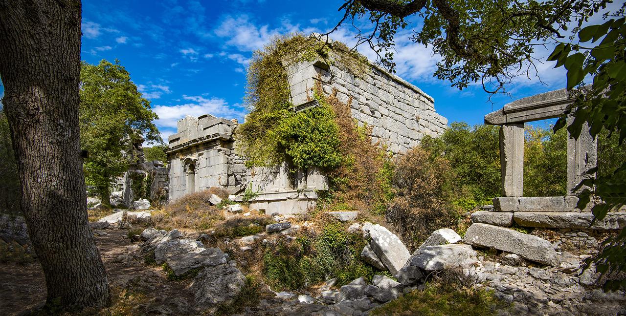 Античный город Термессос