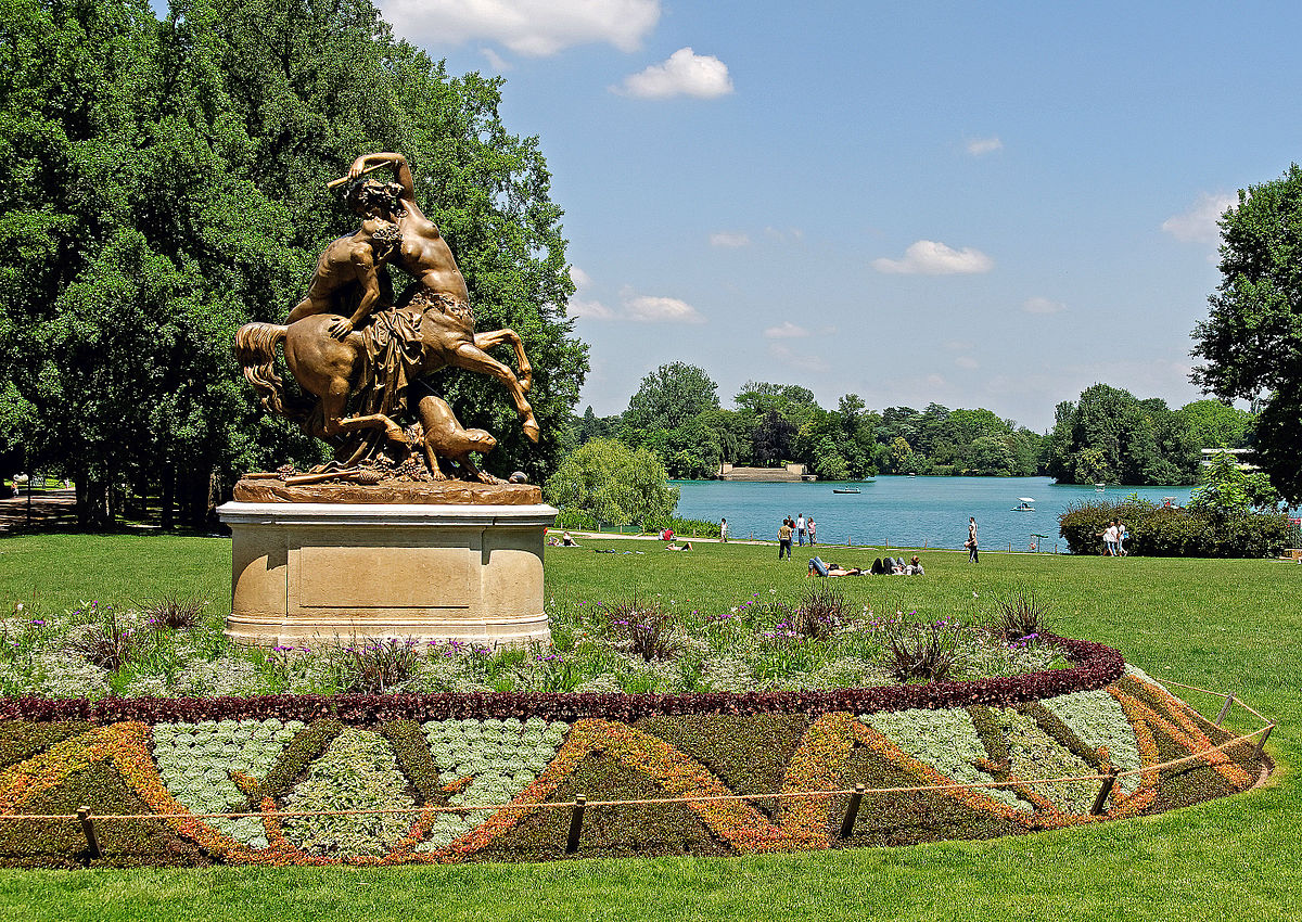 Парк Золотой Головы, Лион