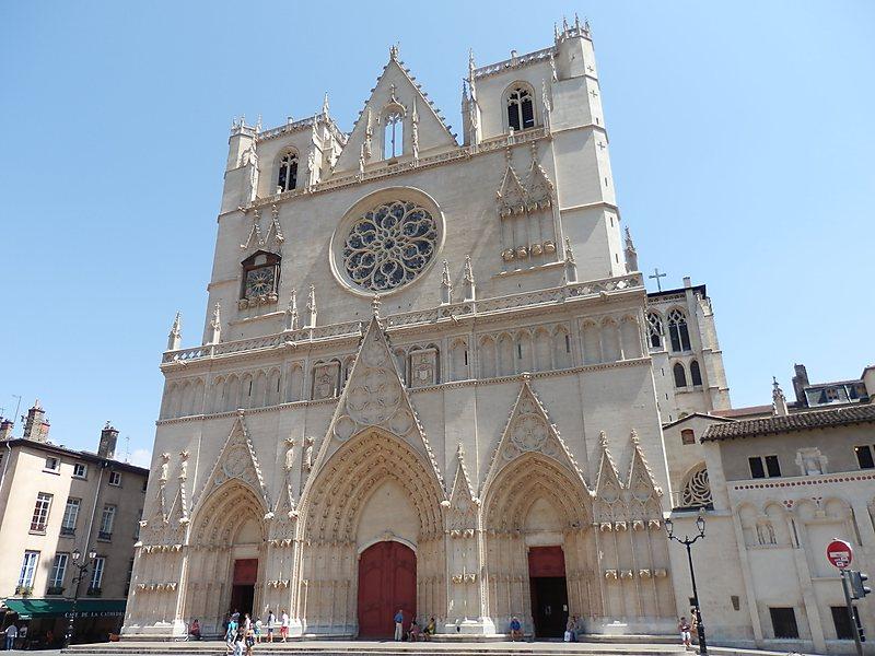 Собор Сен-Жан или Собор Иоанна Крестителя, Лион