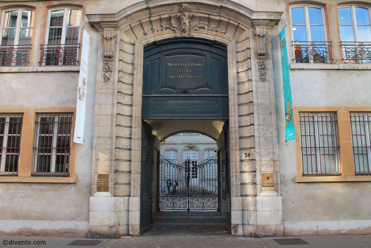 Музей тканей и декоративно-прикладного искусства, Лион