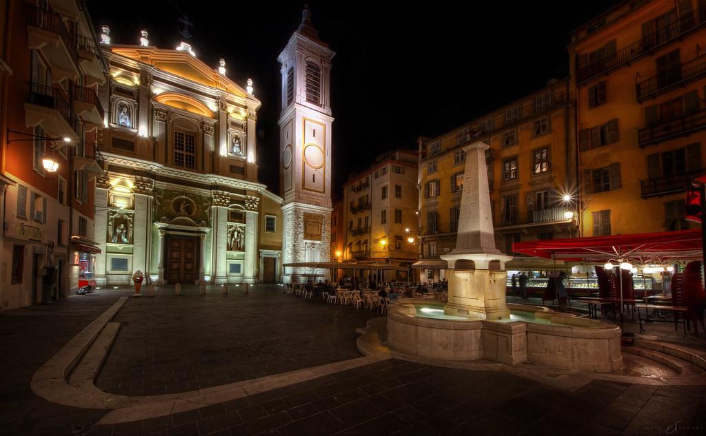 Площадь Россетти, Ницца