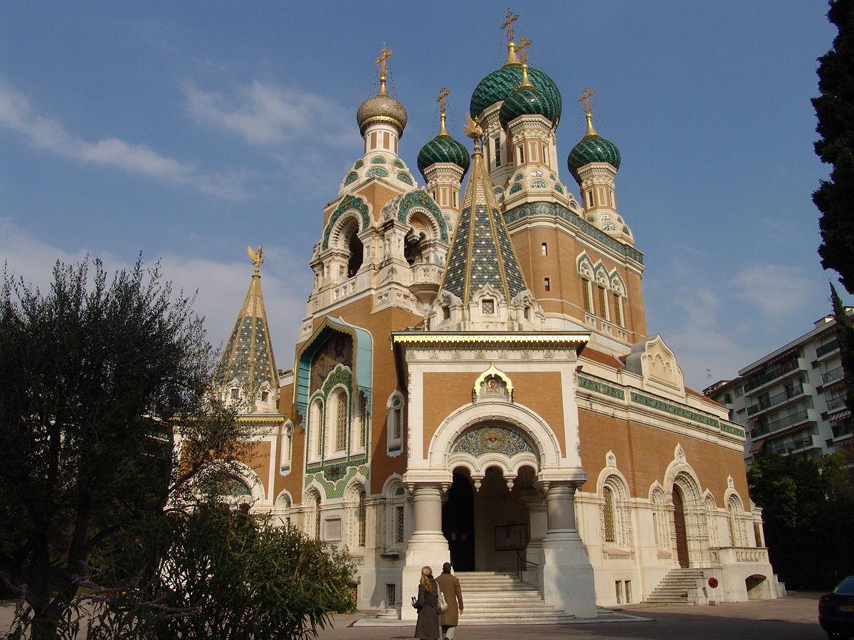 Николаевский собор (Собор Святого Николая), Ницца