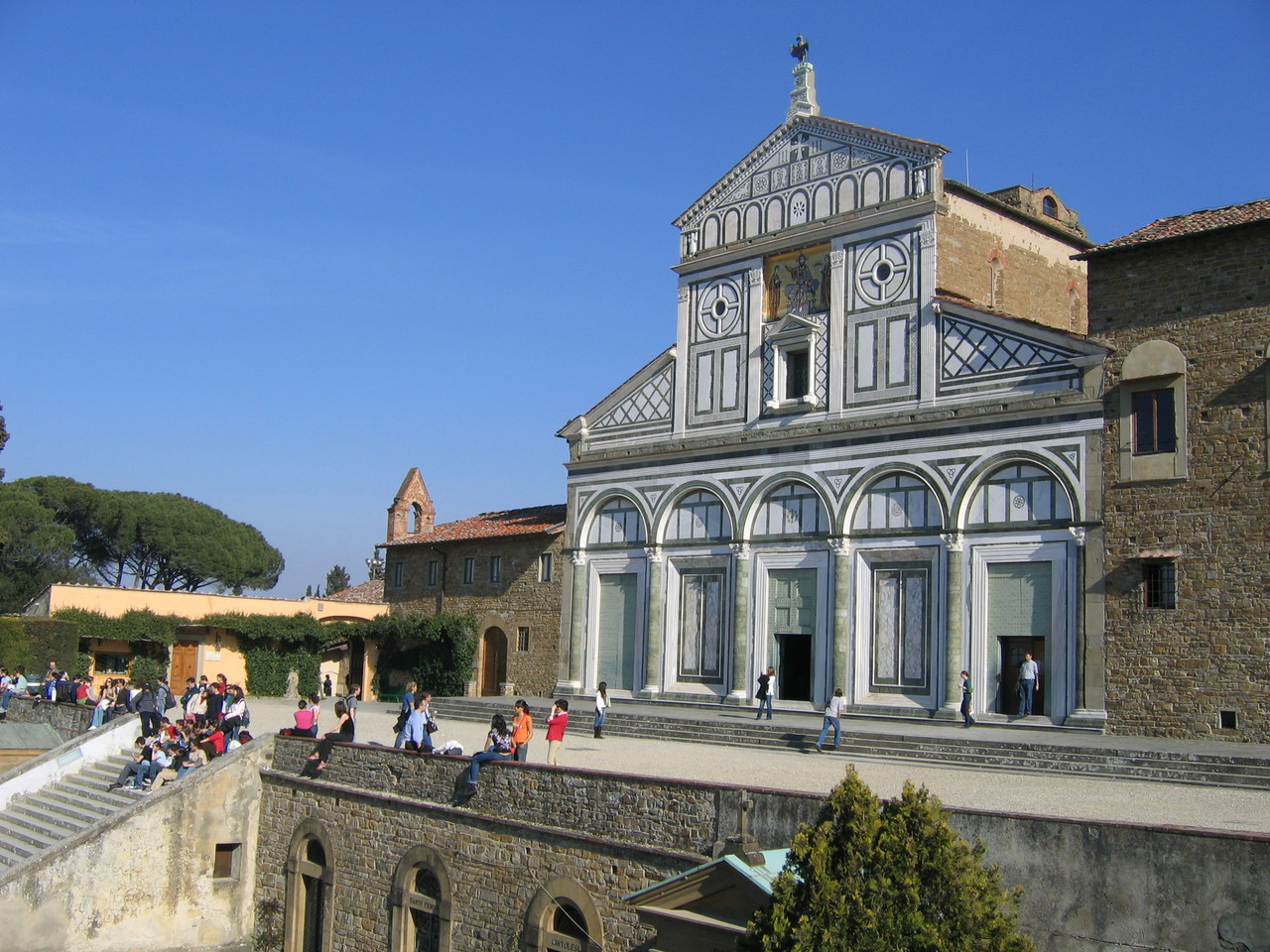 Базилика Сан-Миниато-аль-Монте