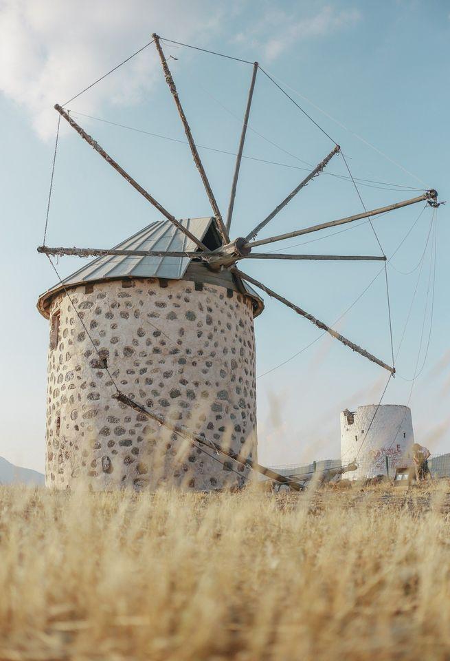 Ветряные мельницы Бодрума