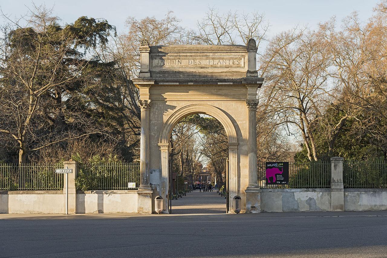 Ботанический сад, Тулуза