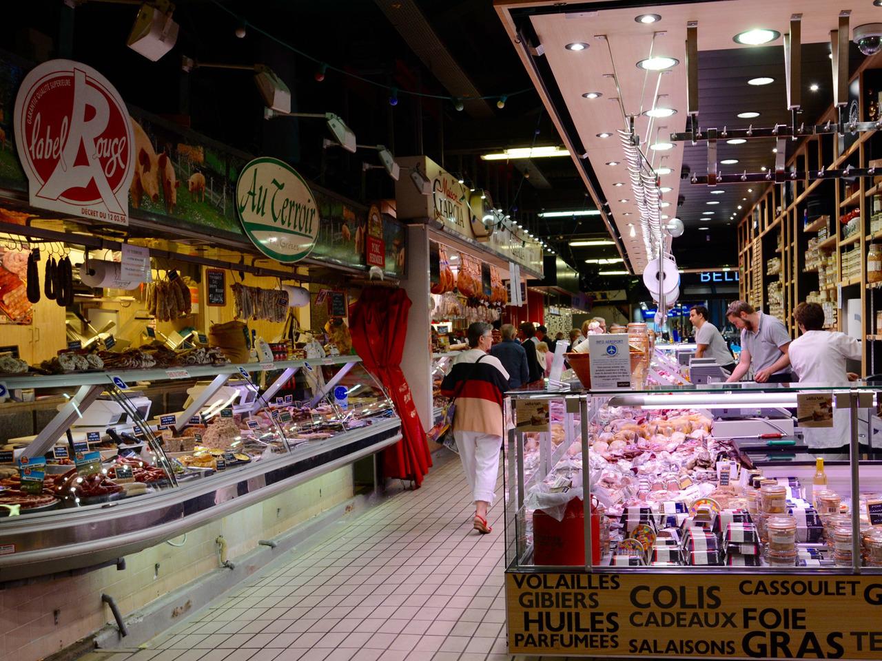 Рынок Виктора Гюго