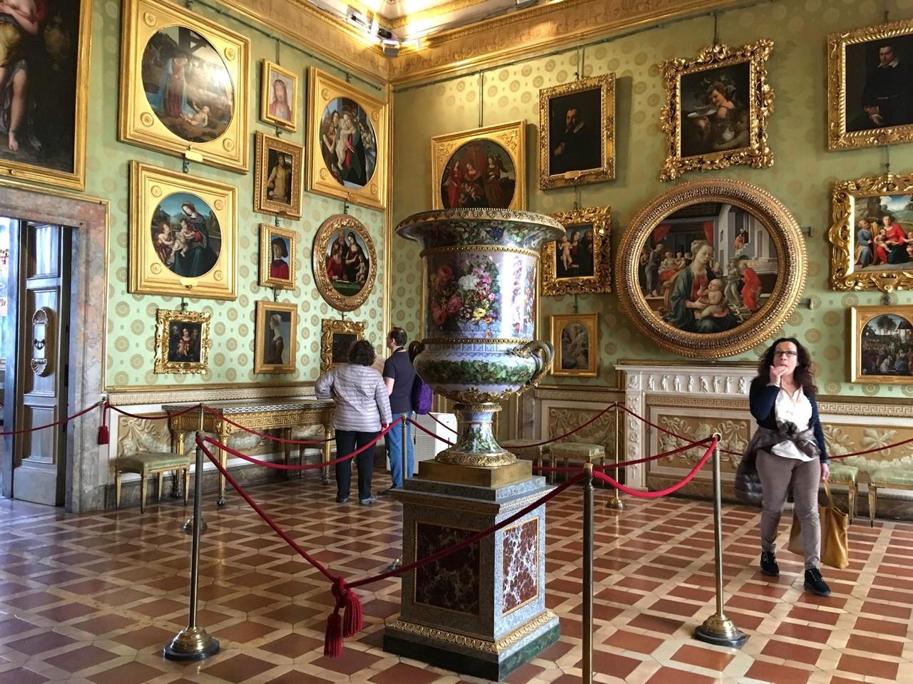 Палаццо Питти, Палатинская галерея