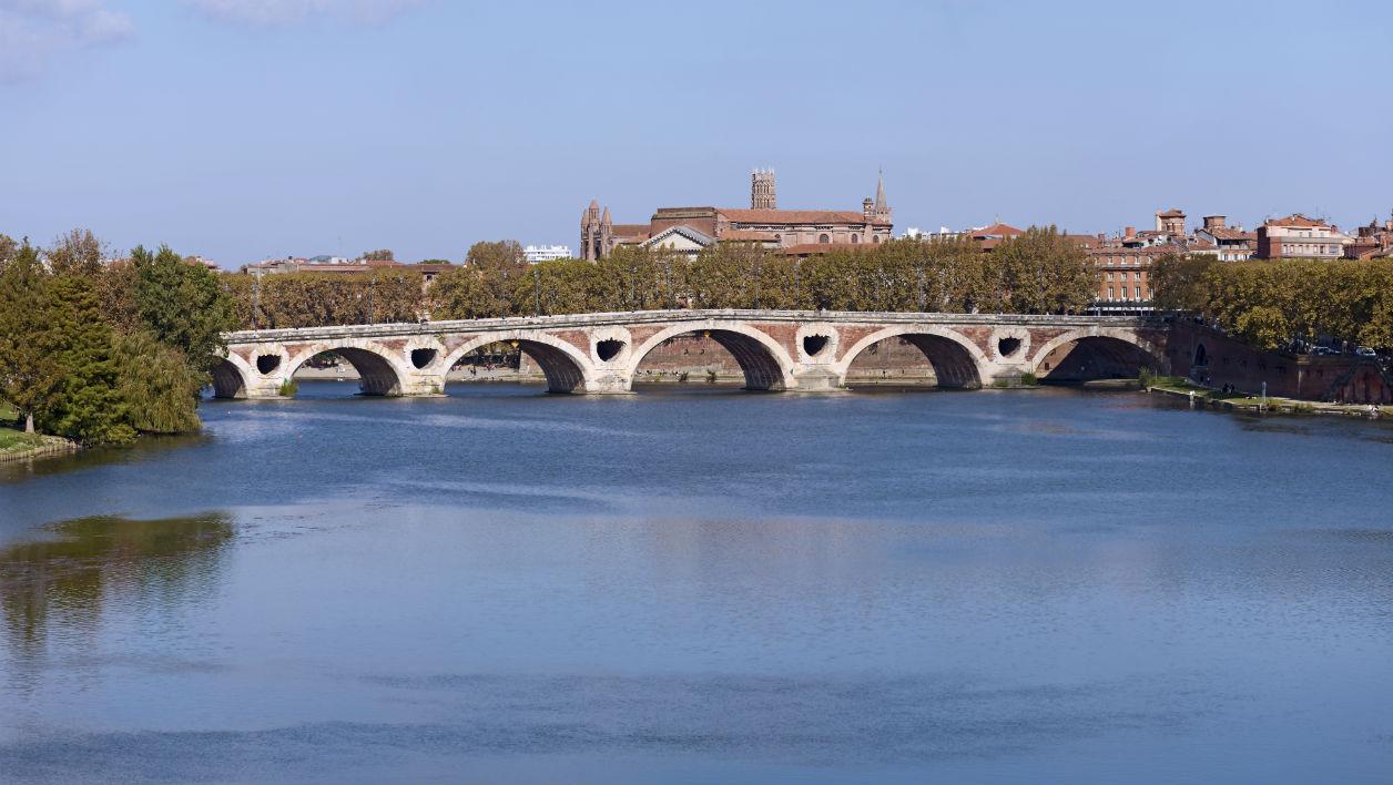 Река Гаронна