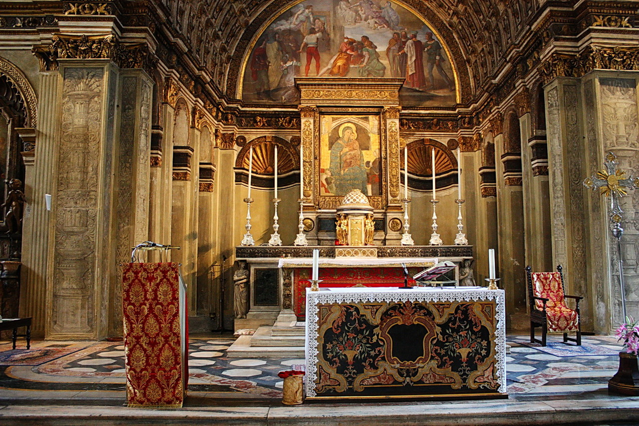 Церковь Санта-Мария прессо Сан-Сатиро