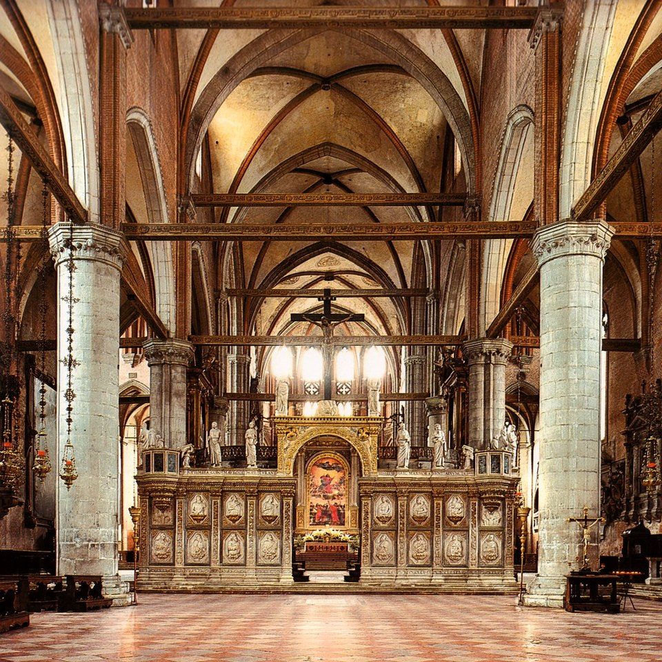 Собор Санта-Мария-Глориоза-деи-Фрари