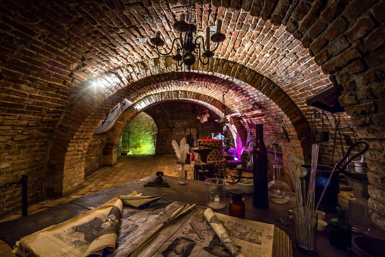 Подземный лабиринт под Зеленым Рынком, Брно
