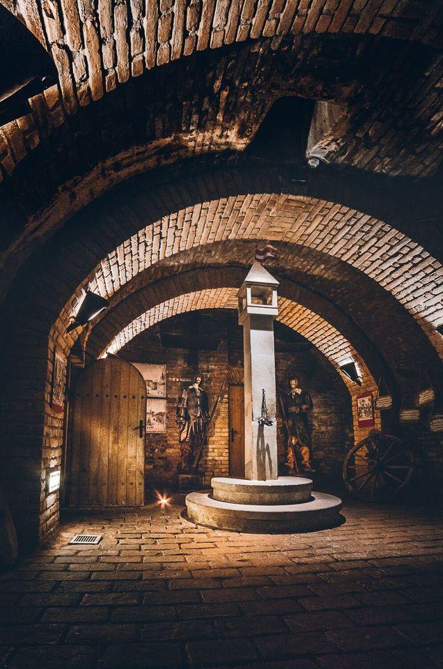 Подземный лабиринт под Зеленым Рынком