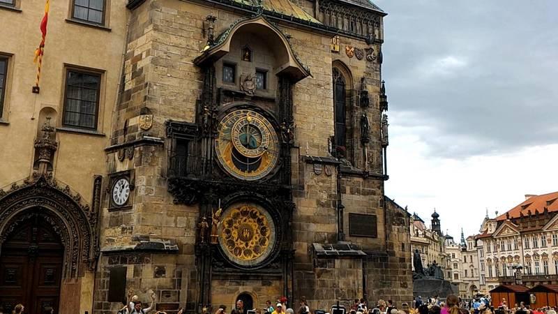 Староместская ратуша с астрономическими часами