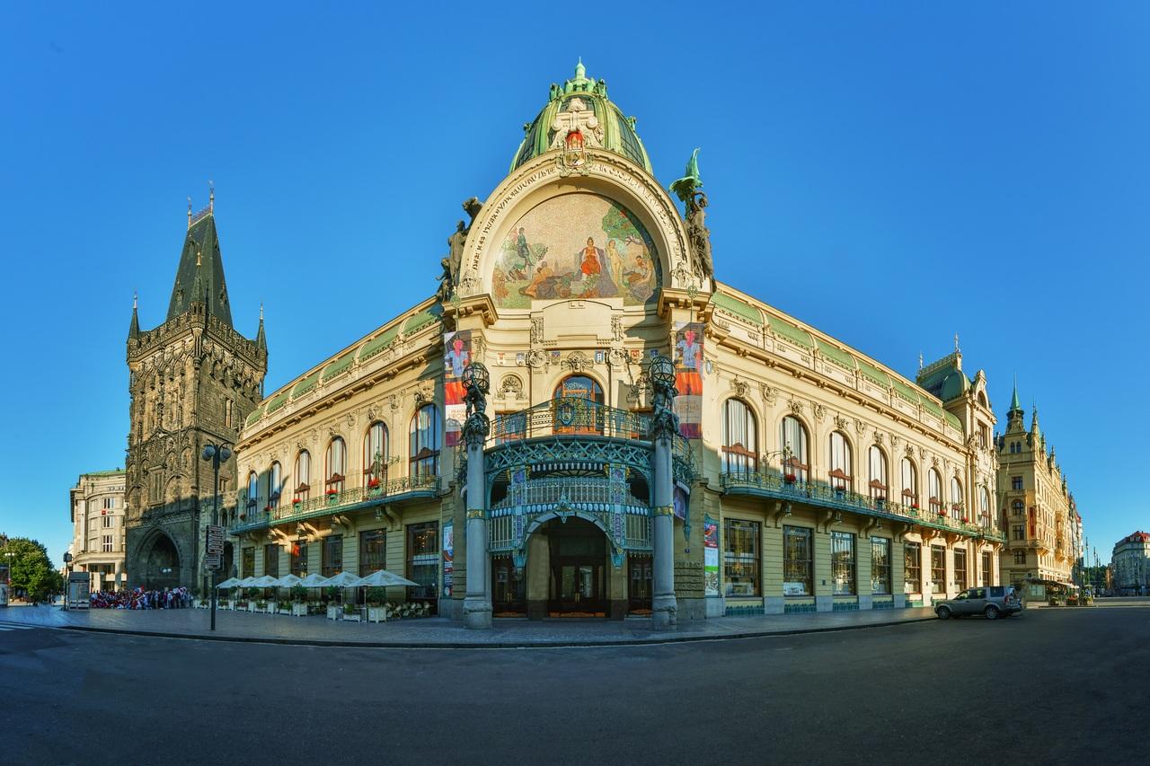 Муниципальный дом, Прага