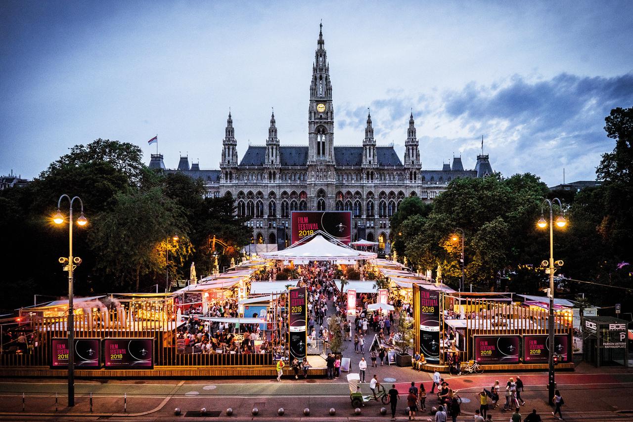 Ратушная площадь (Ратхаусплац), Вена