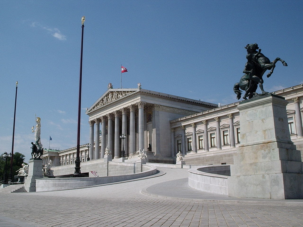 Здание Парламента Австрии