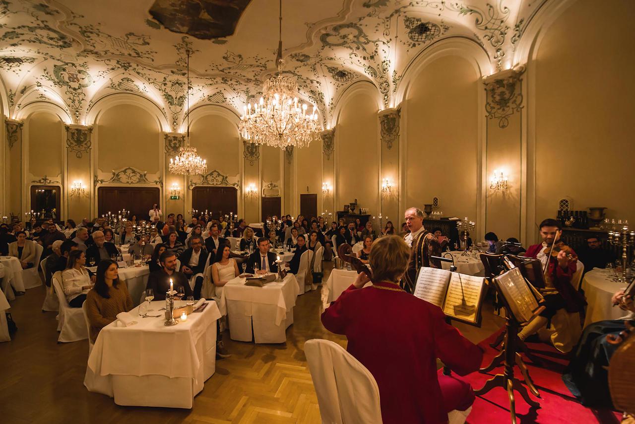 Концертная программа Mozart Dinner Concert