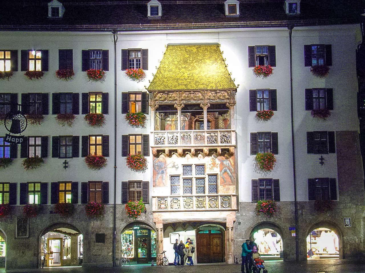 Дом с золотой крышей, Инсбрук