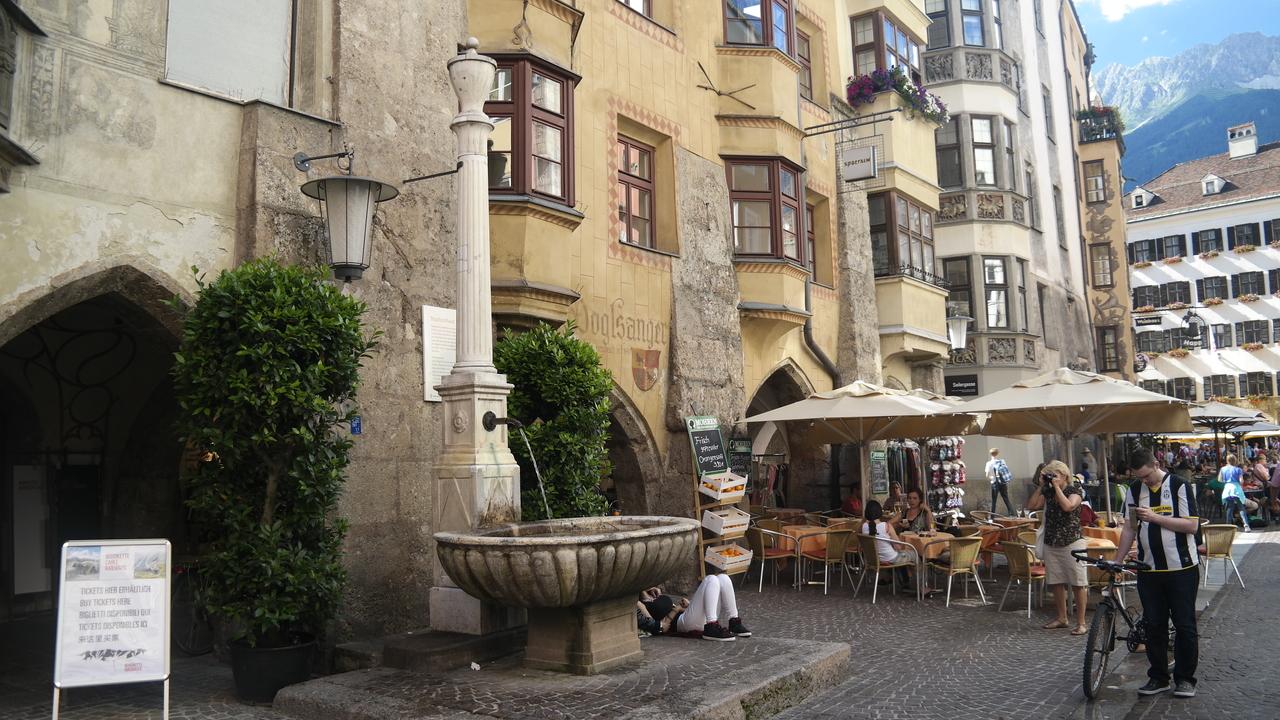 Старый город Инсбрука