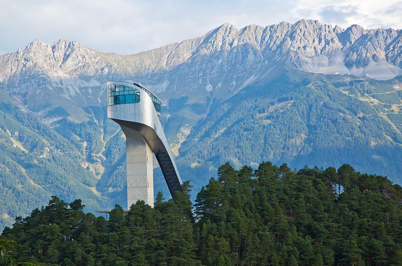 Лыжный Трамплин Бергизель, Инсбрук