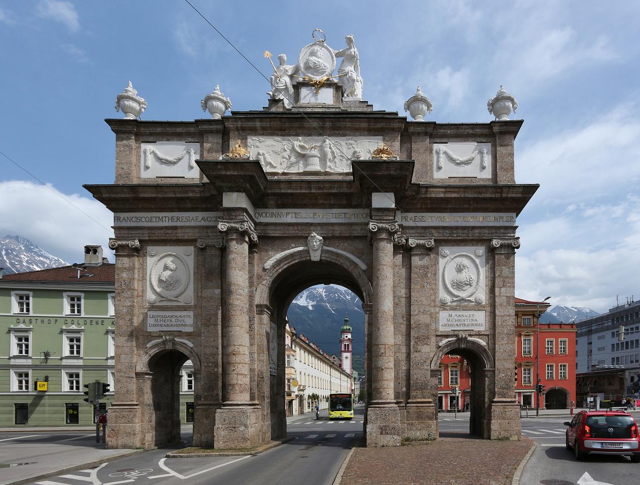 Триумфальная арка, Инсбрук