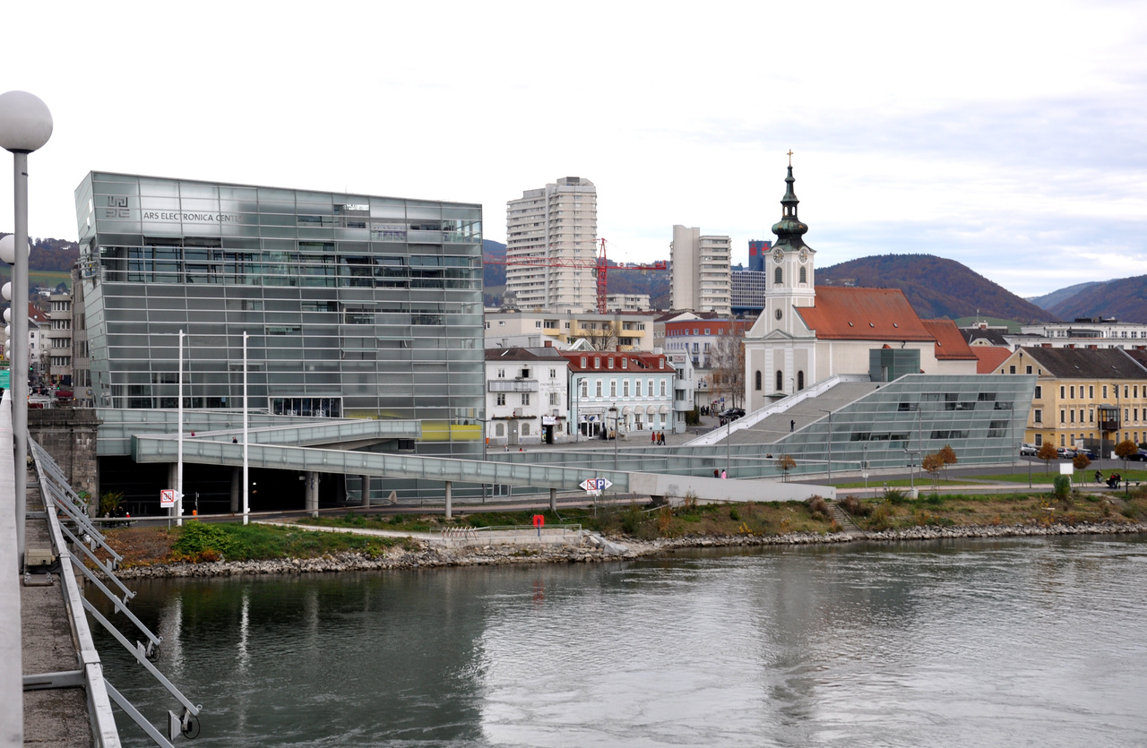 Музей современного искусства «Ars Electronica Center»