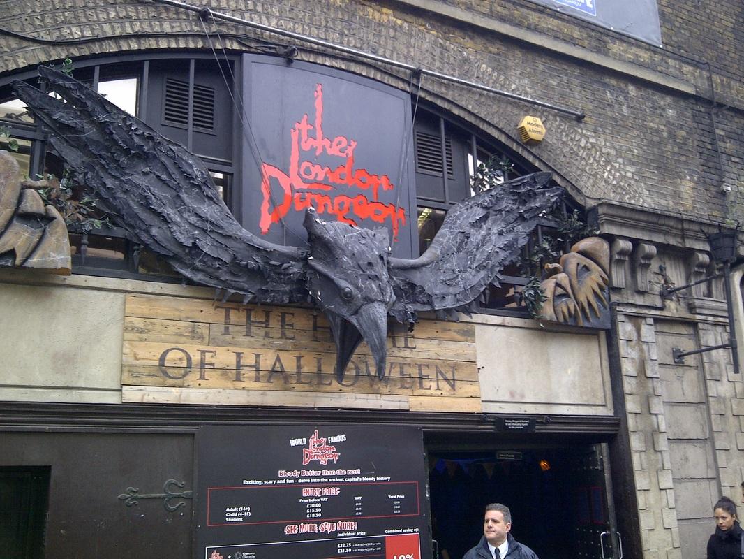Лондонская темница (Подземелья Лондона), Лондон