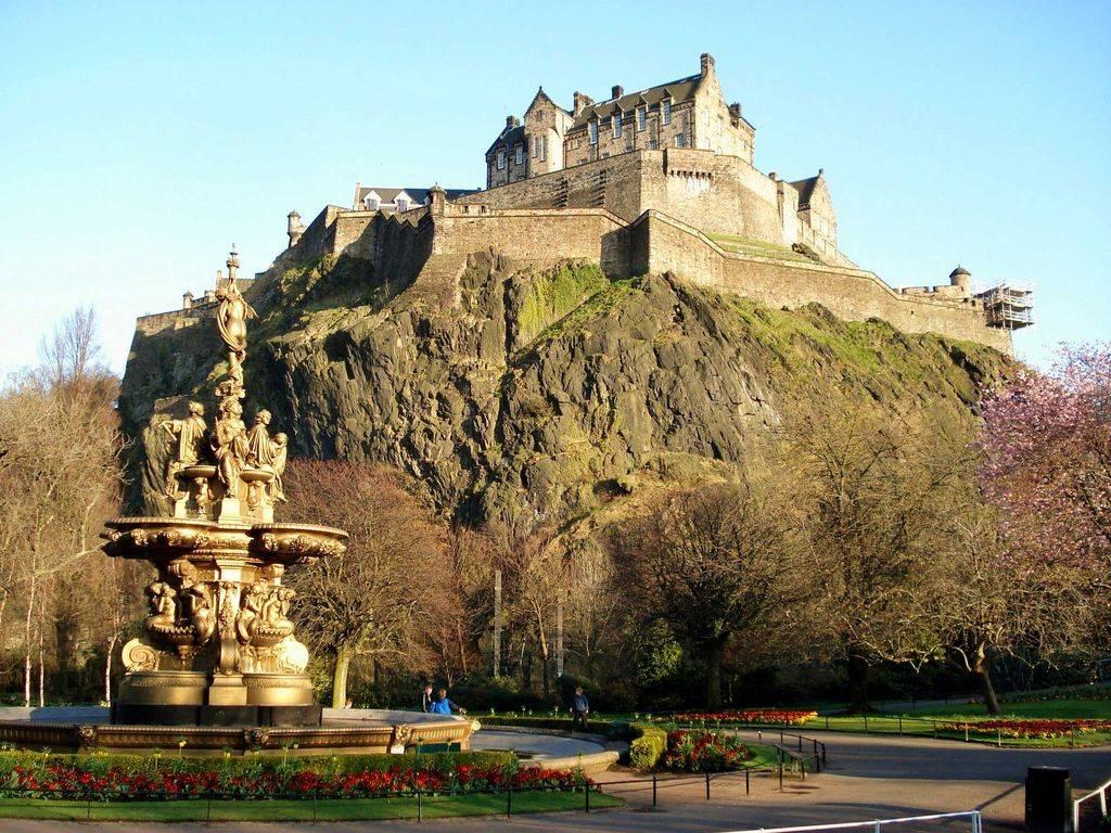Эдинбургский замок, Эдинбург