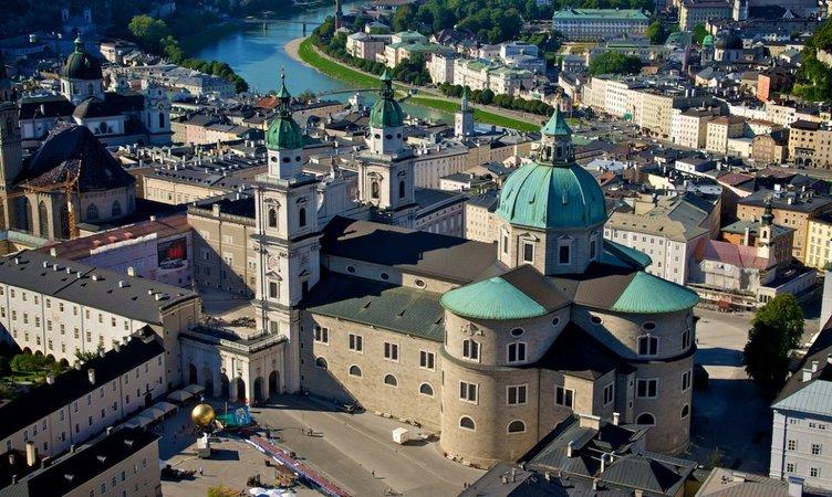 Старый город Зальцбурга