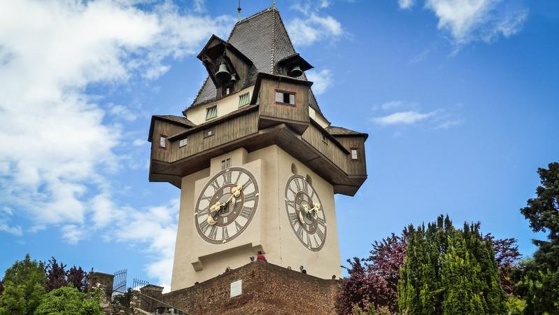 Часовая башня в Граце